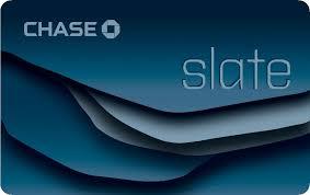 Chase Slate Balance Transfer Credit Card